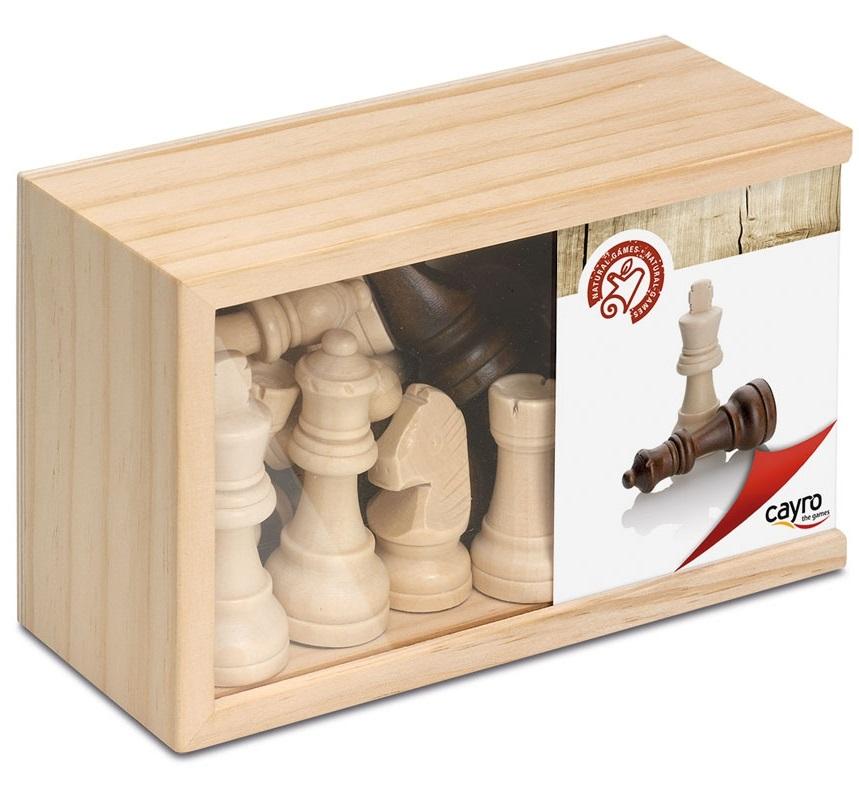 Cayro - Pièces d'échecs - Roi de 7,62 cm de haut