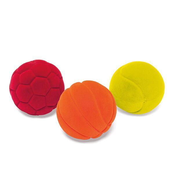 RUBBABU - Set de 3 mini balles de sports