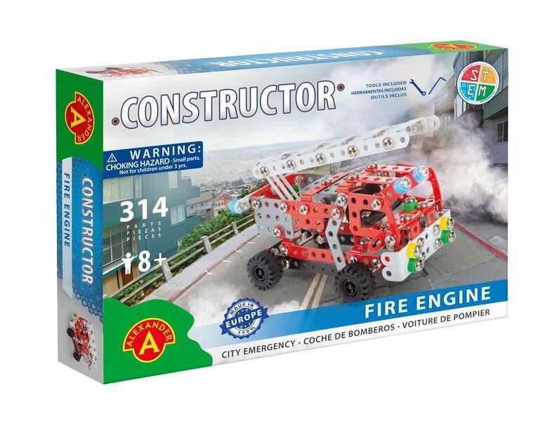 Alexander Toys - Constructor Fire Engine - Camion de pompier