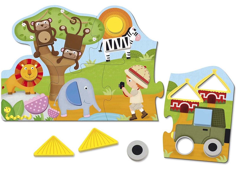 Goula - Puzzle Shapes Safari