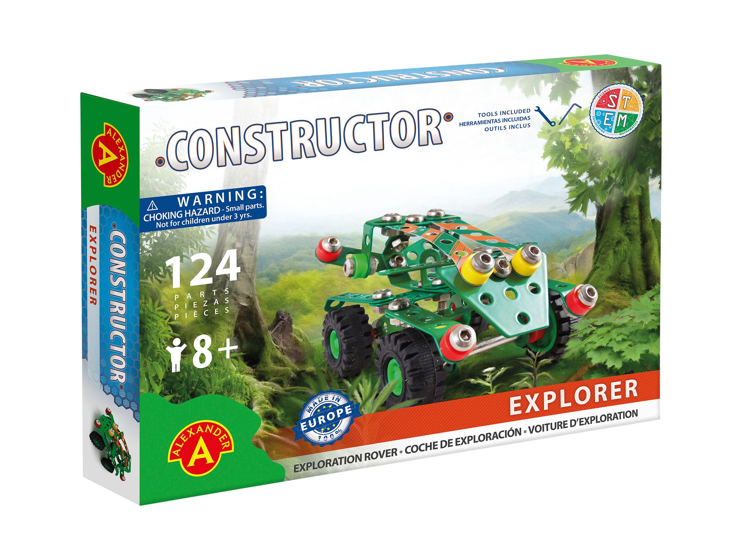 Alexander Toys - Constructor Explorer - Voiture d'exploration