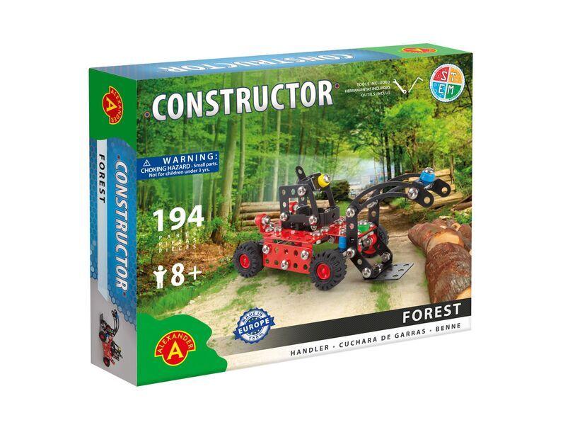 Alexander Toys - Constructor Forest - Chargeuse à bois