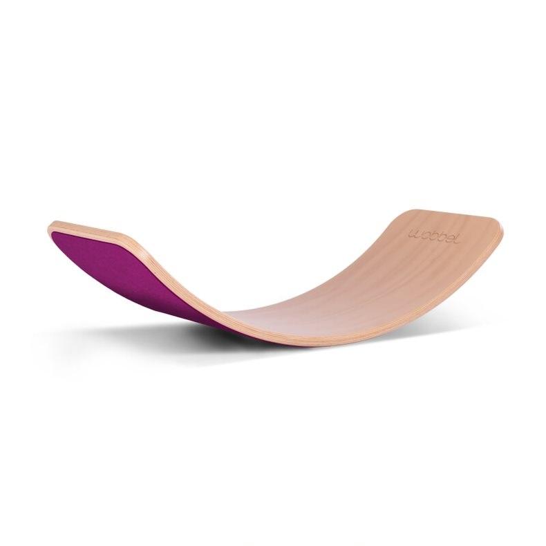 WOBBEL - Planche d'équilibre Wobbel Original framboise
