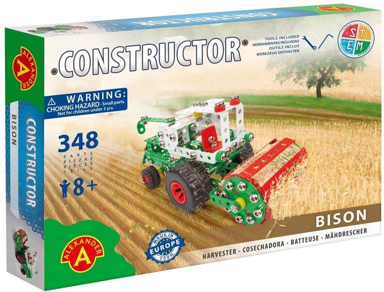 Alexander Toys - Constructor Bison - Moissonneuse-batteuse