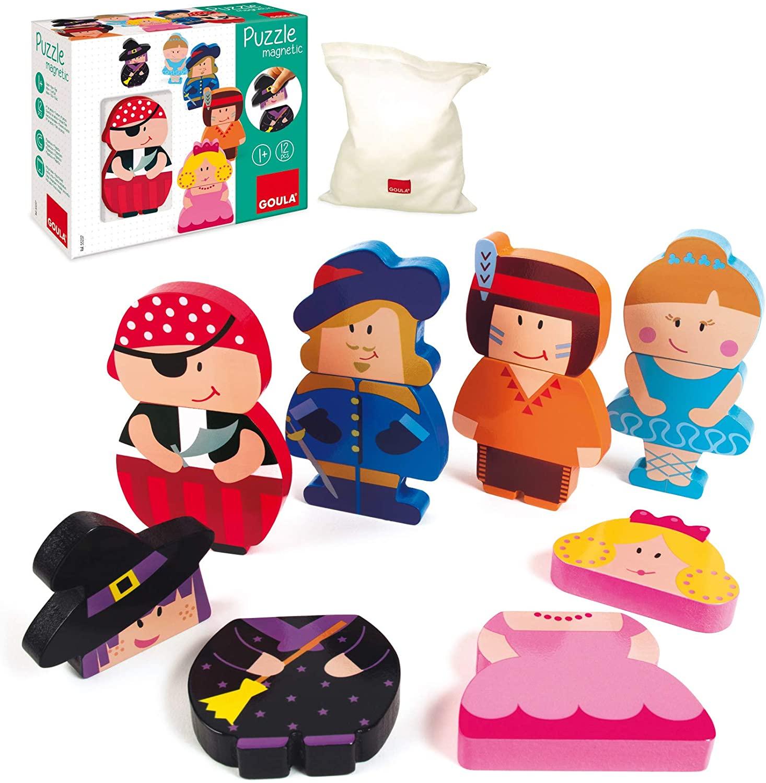 Goula - Puzzles magnétiques personnages