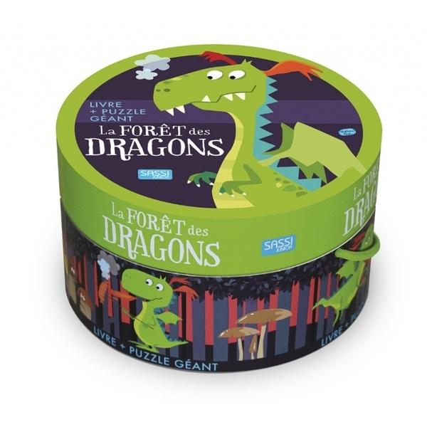 SASSI Junior - Puzzle La forêt des dragons