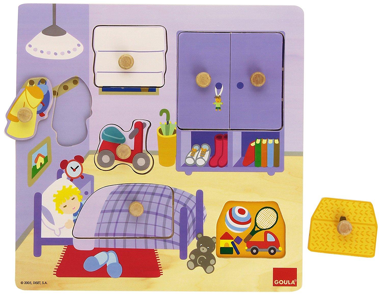 Goula - Puzzle chambre de l'enfant