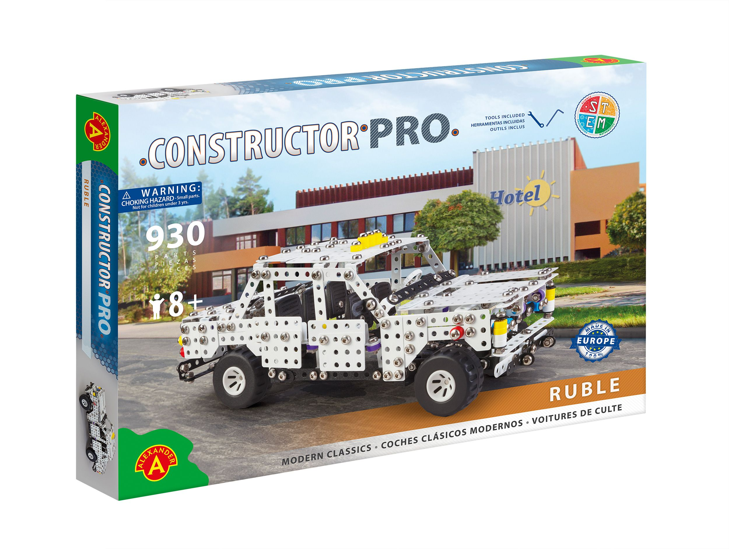 Alexander Toys - Constructor Pro - Voiture Ruble