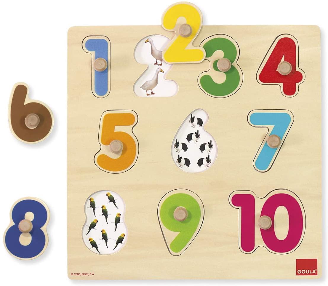 Goula - Puzzle Numéros