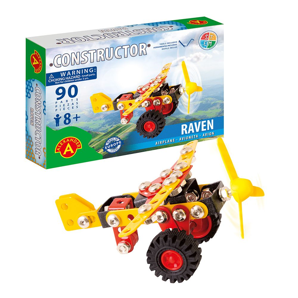 Alexander Toys - Constructor Raven - Avion