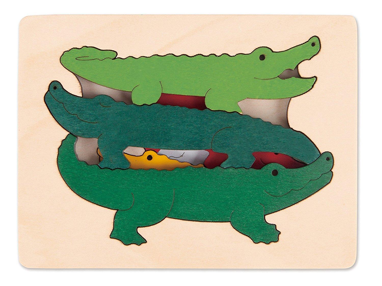 Hape - Puzzle - Crocodiles