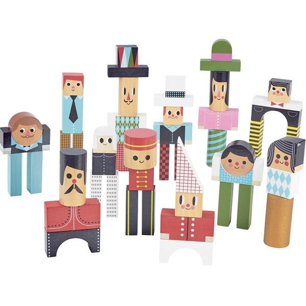 Vilac - Les bonhommes en cubes