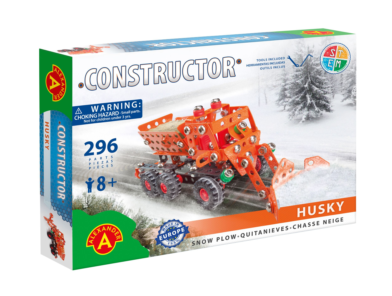 Alexander Toys - Constructor Husky - Chasse-neige