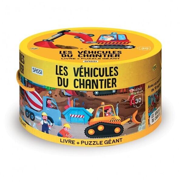 SASSI Junior - Puzzle Les véhicules du chantier