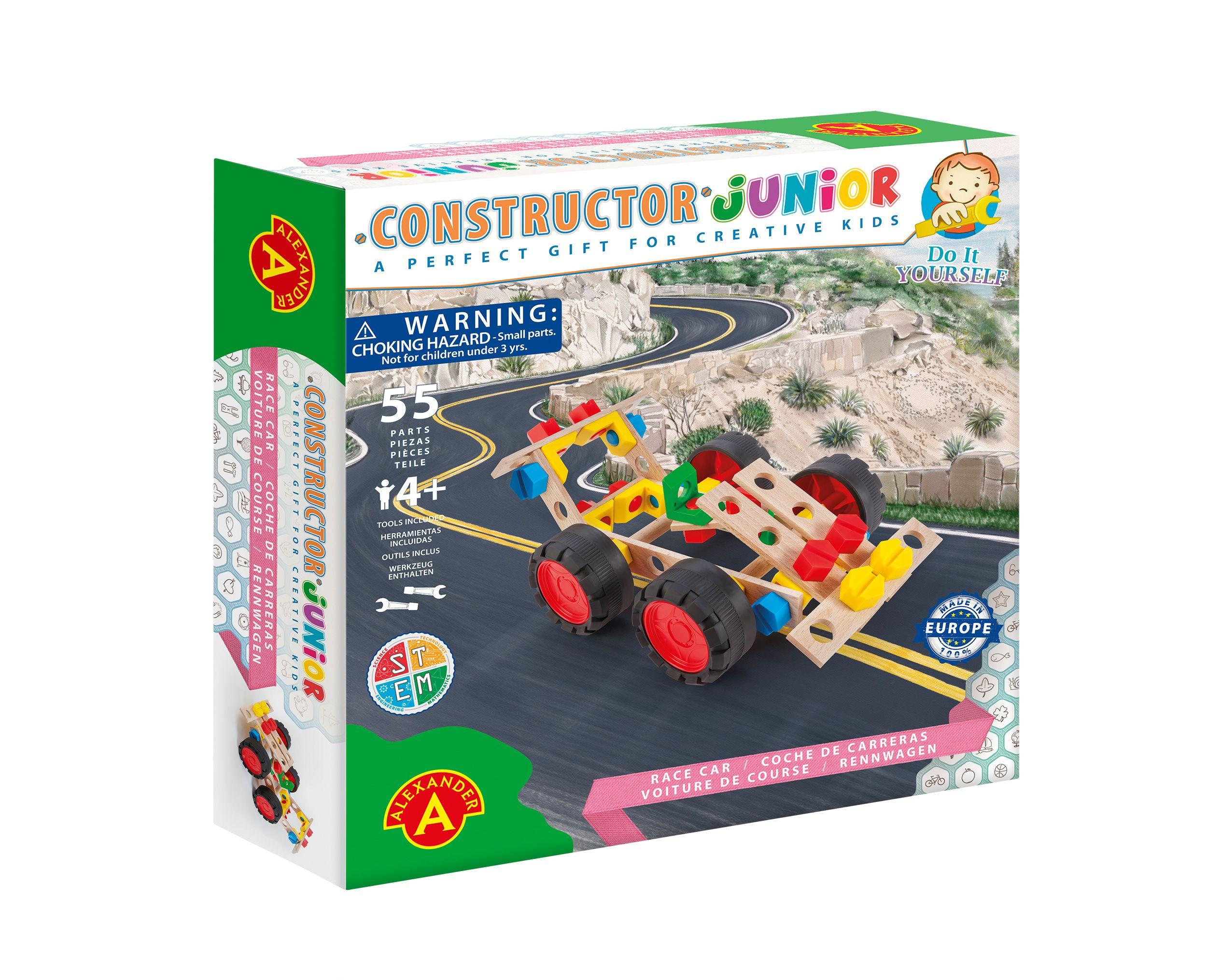 Alexander Toys - Constructor Junior - Voiture de course
