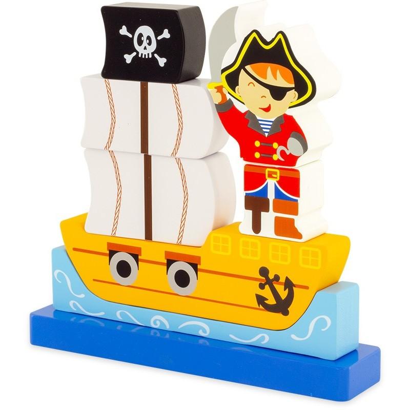 Ulysse - Puzzle magnétique Pirate