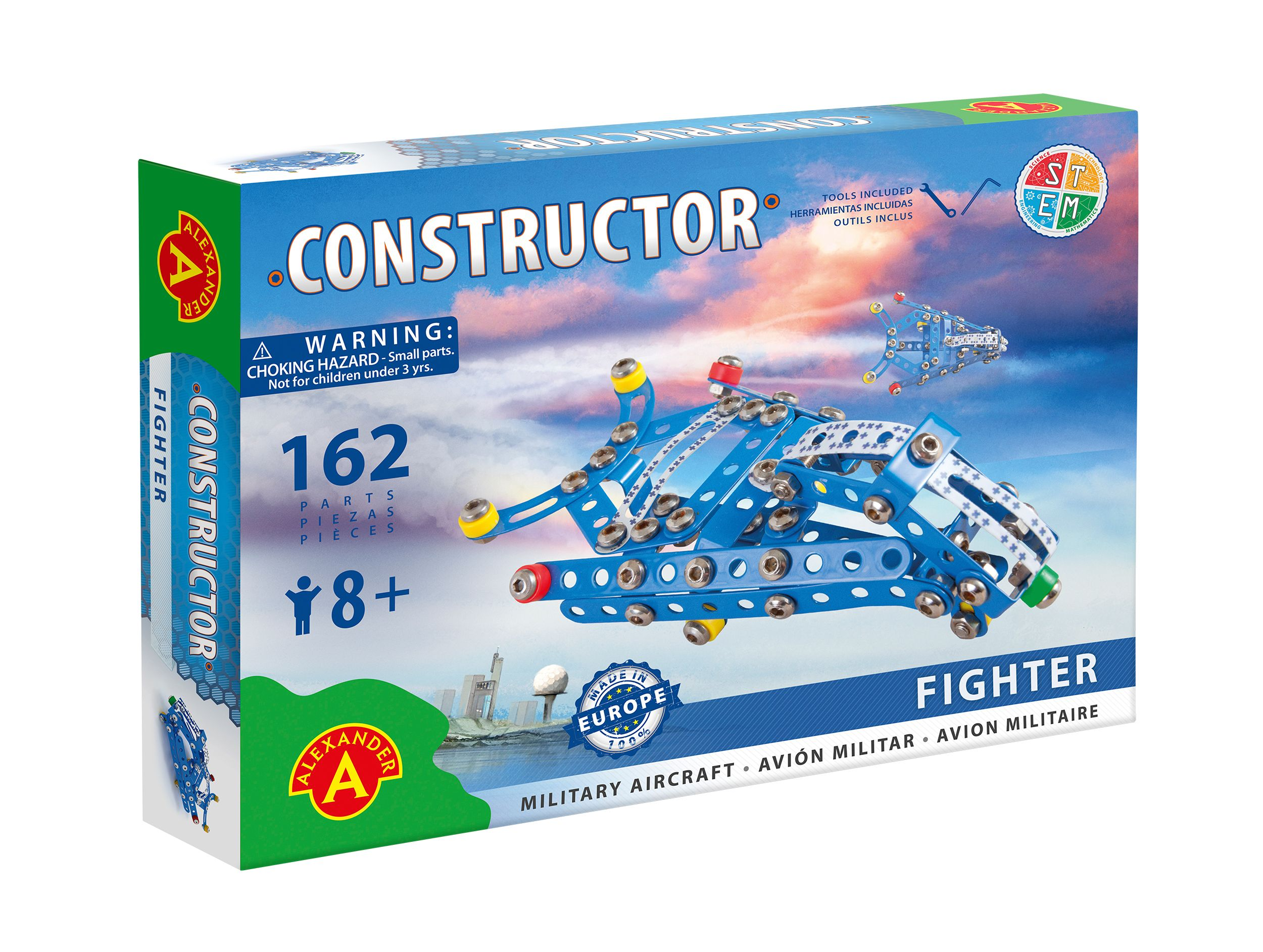 Alexander Toys - Constructor Fighter - Avion militaire
