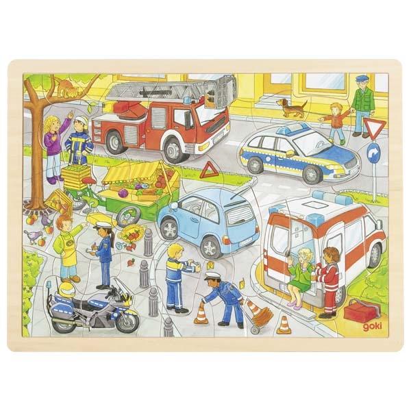 Goki - Puzzle Police