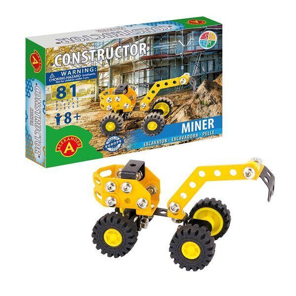 Alexander Toys - Constructor Miner - Pelleteuse