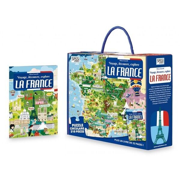 SASSI Junior - Voyage, découvre, explore - La France