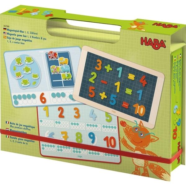 Haba - Boîte de jeu magnétique - Chiffres