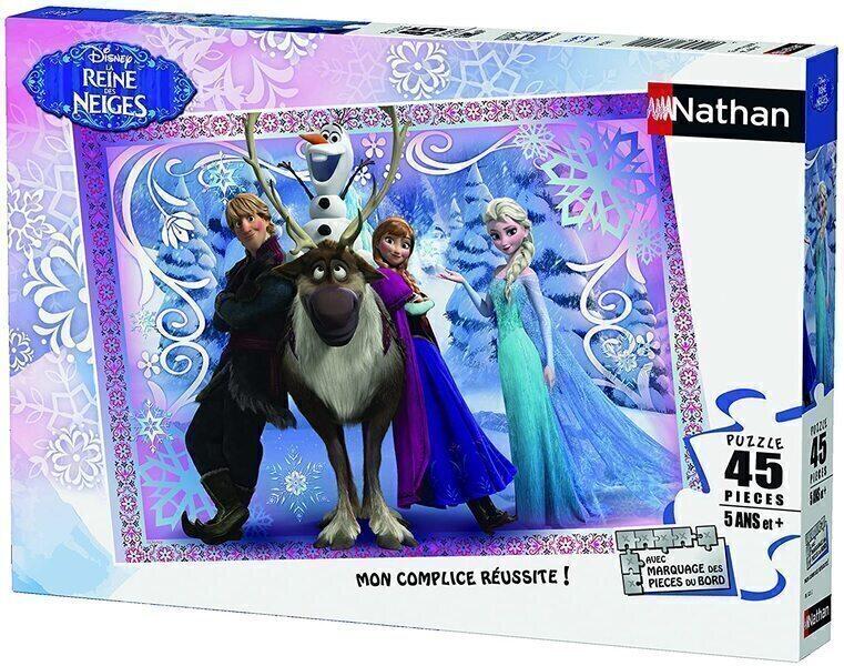 Nathan - Puzzle La Reine des neiges 45 pcs