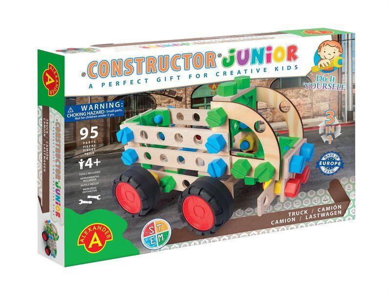 Alexander Toys - Constructor Junior 3x1 - Camion