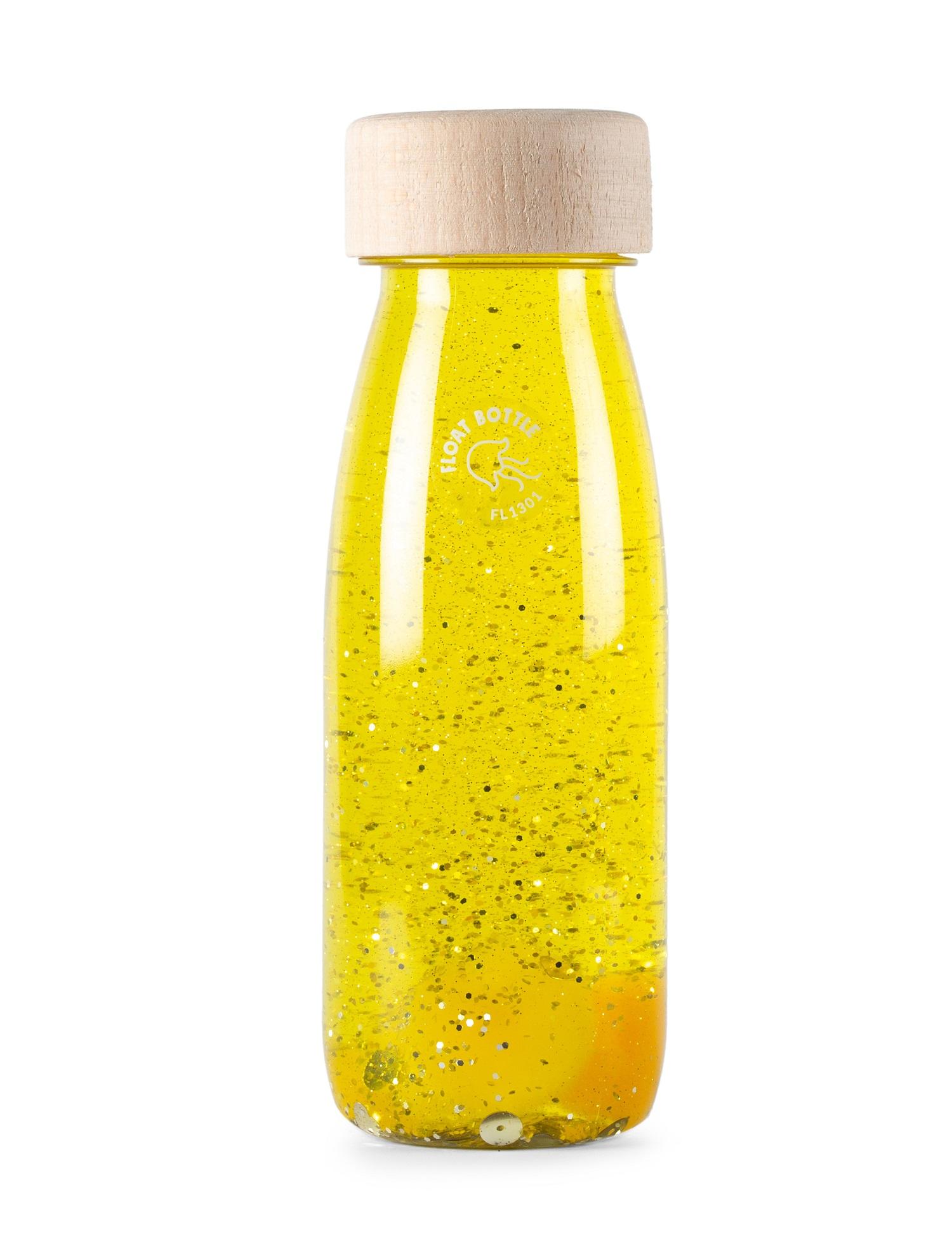 Petit Boum - Bouteille sensorielle Float jaune