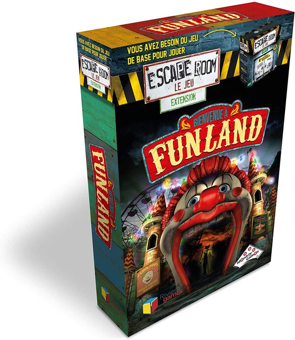 Riviera games - Escape Games - Pack extension Funland
