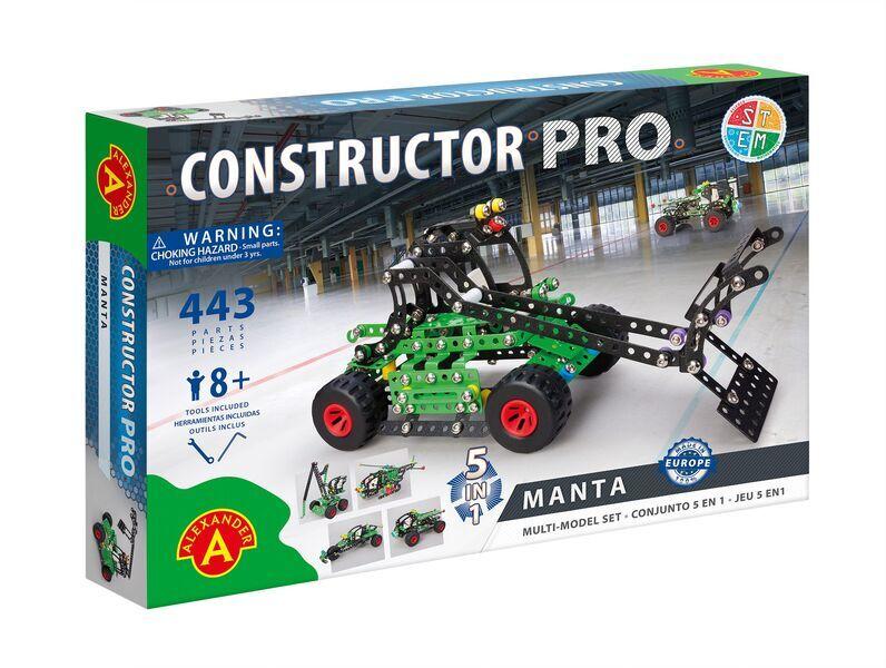 Alexander Toys - Constructor Pro - Manta 5 en 1
