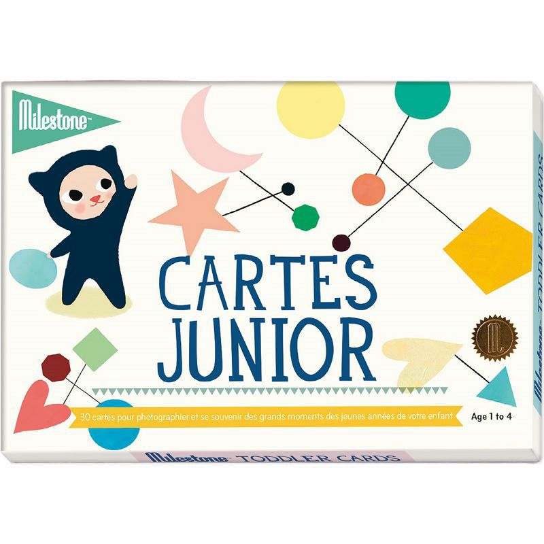 Milestone - Cartes souvenirs - Junior
