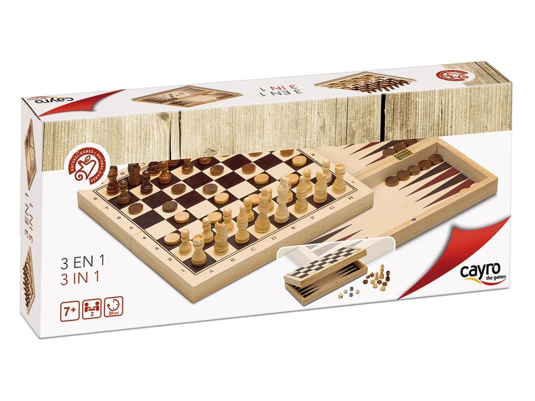 Cayro - Échecs, Dames et Backgammon