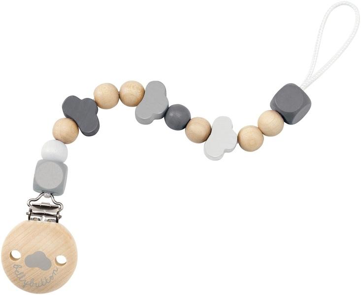 Selecta - Attache-tétine nuages gris