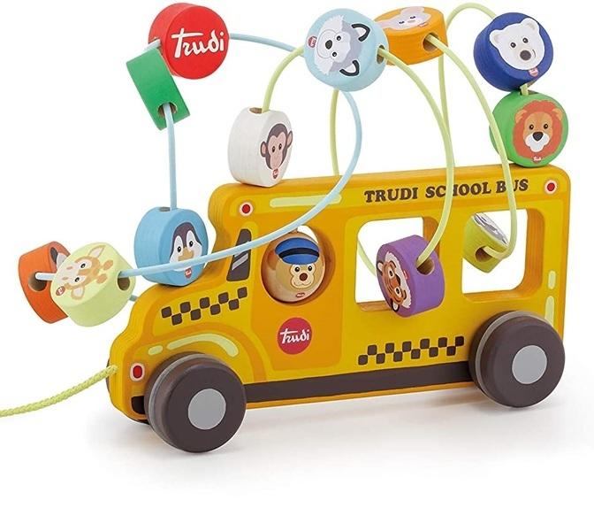 Sevi - Labyrinthe Bus Scolaire avec roues