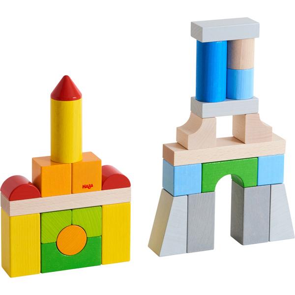 Haba - Blocs de construction multicolore