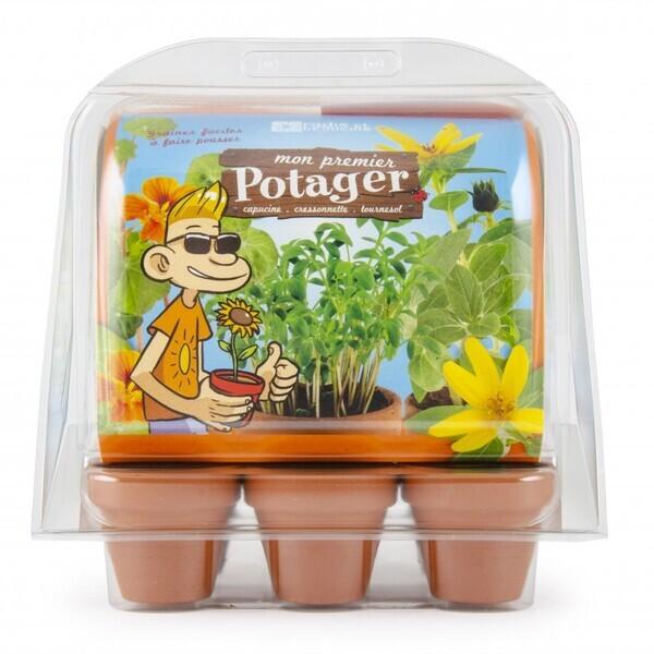 Radis et Capucine - Mini-Serre Mon Premier Jardin