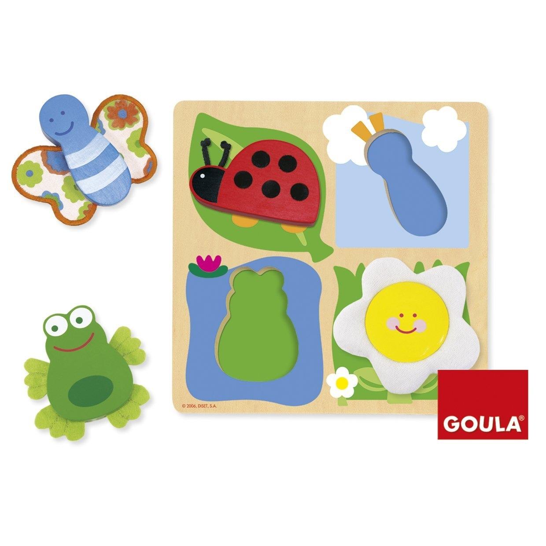 Goula - Puzzle campagne matières et formes