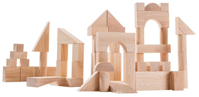 Plan Toys - Blocs de construction 50 pièces