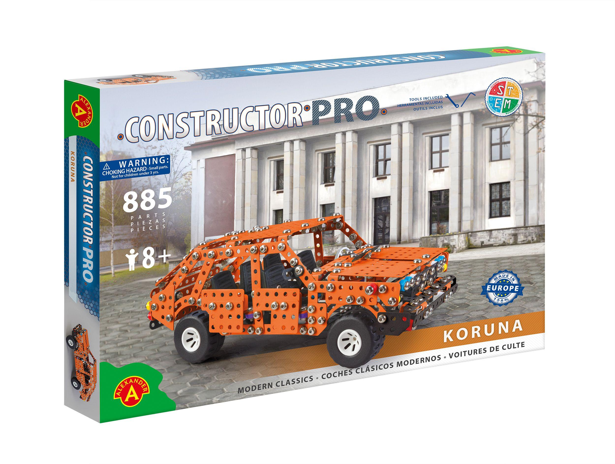 Alexander Toys - Constructor Pro - Voiture Koruna