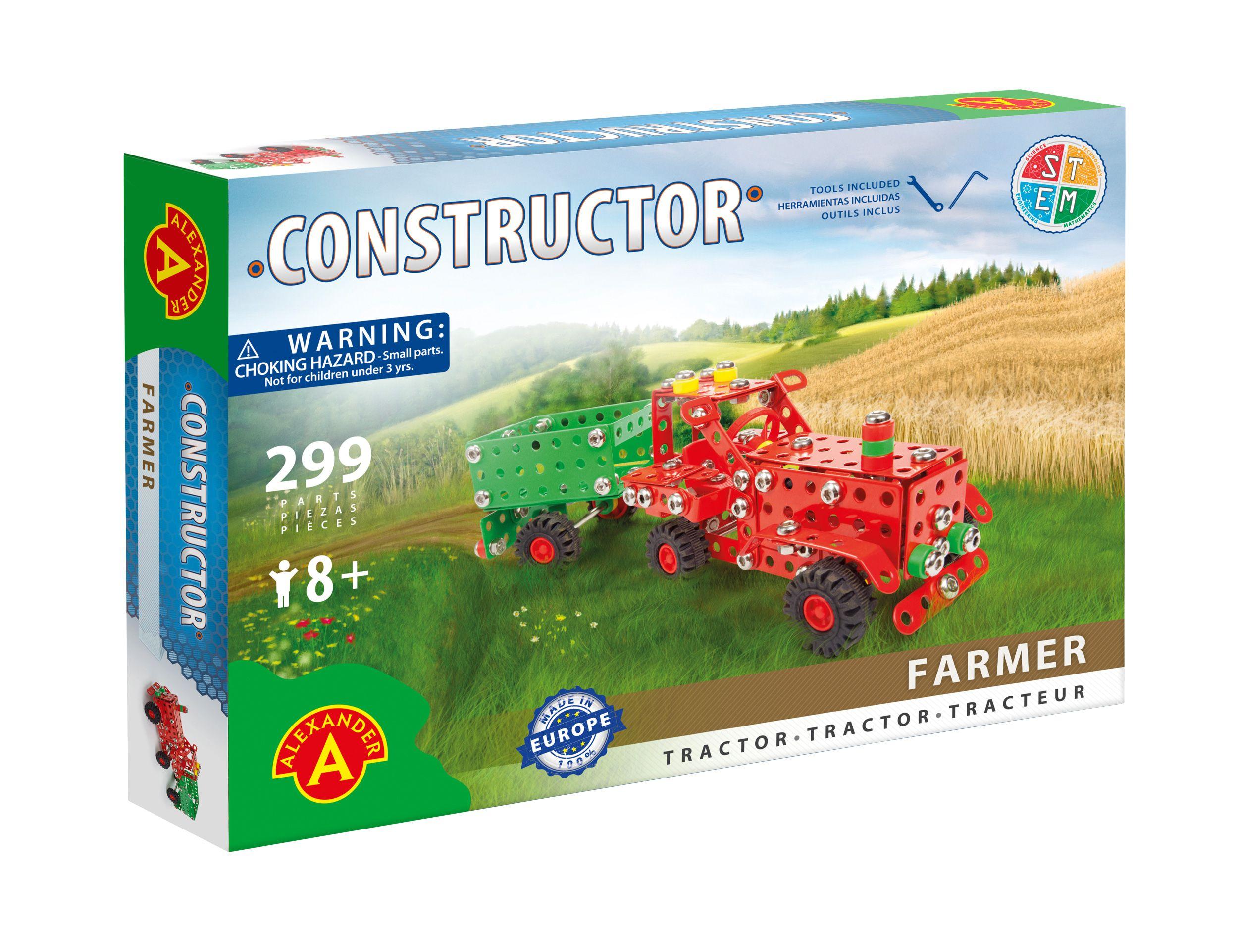 Alexander Toys - Constructor Farmer - Tracteur