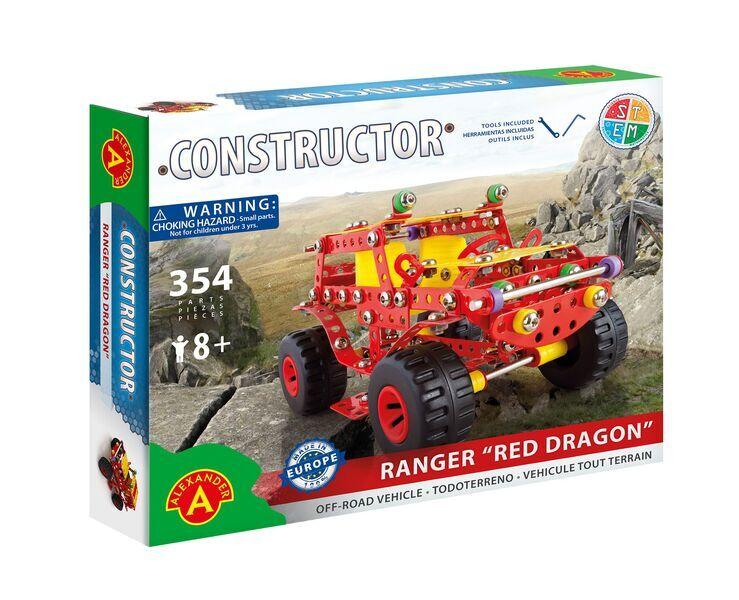 Alexander Toys - Constructor Ranger Red Dragon