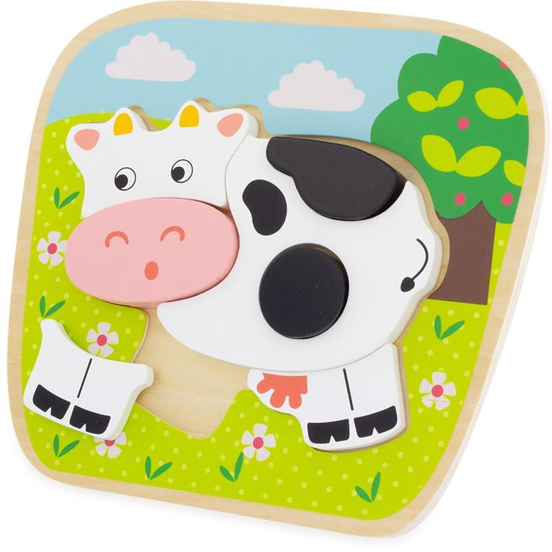 Ulysse - Puzzle Vache