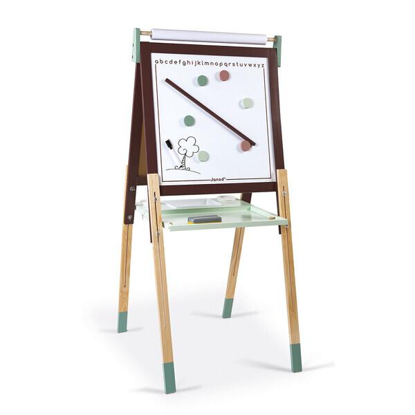 Janod - Tableau réglable Taupe et Vert