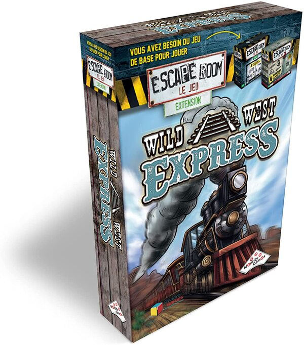 Riviera games - Escape Games - Pack extension Wild West Express