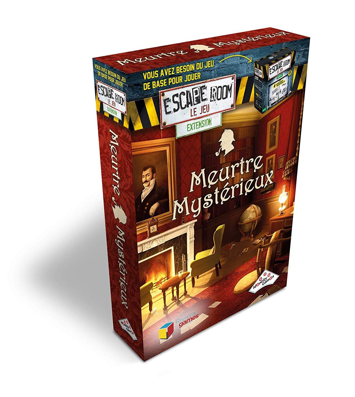 Riviera games - Escape Games - Pack extension Meurtre Mystérieux