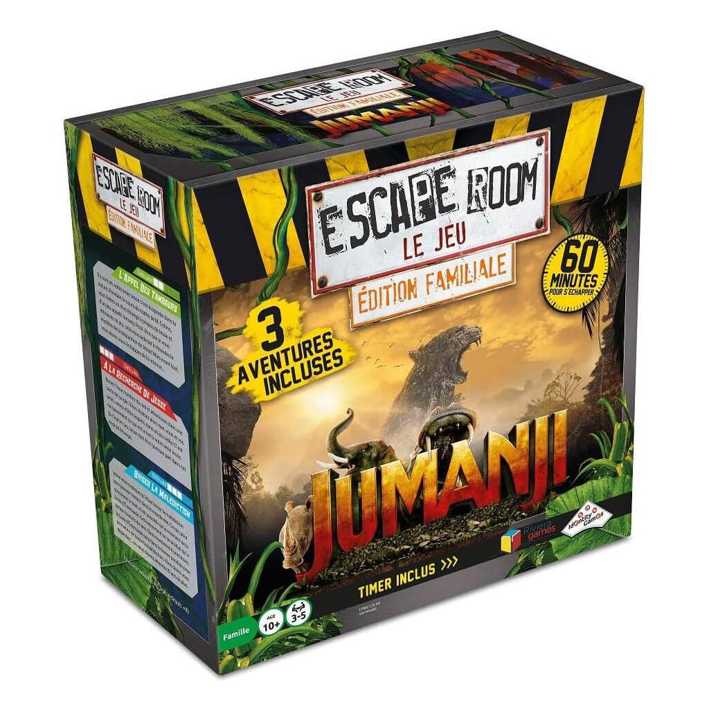 Riviera games - Escape Games Jumanji - Coffret 3 jeux