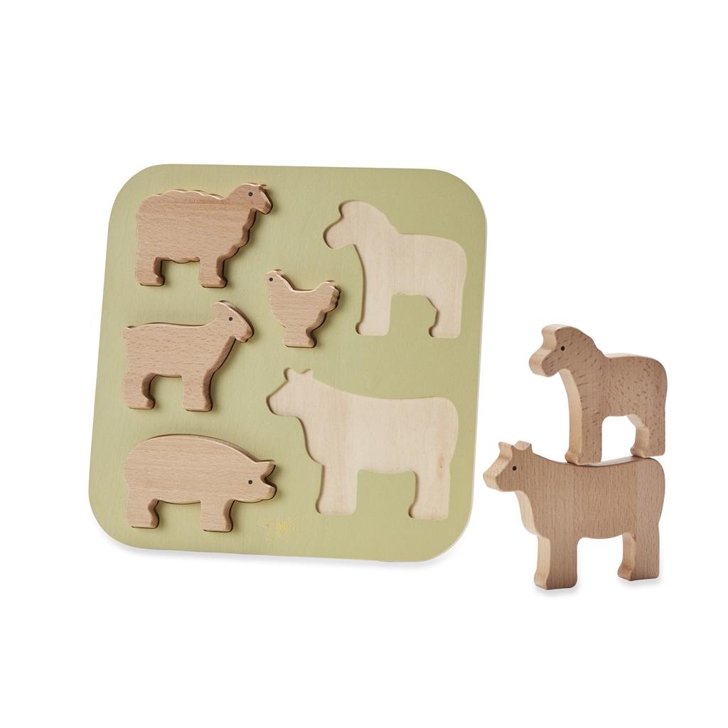 ByAstrup - Puzzle - Animaux de la ferme