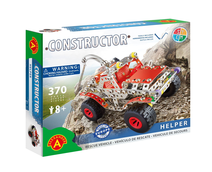 Alexander Toys - Constructor Helper - Véhicule de secours