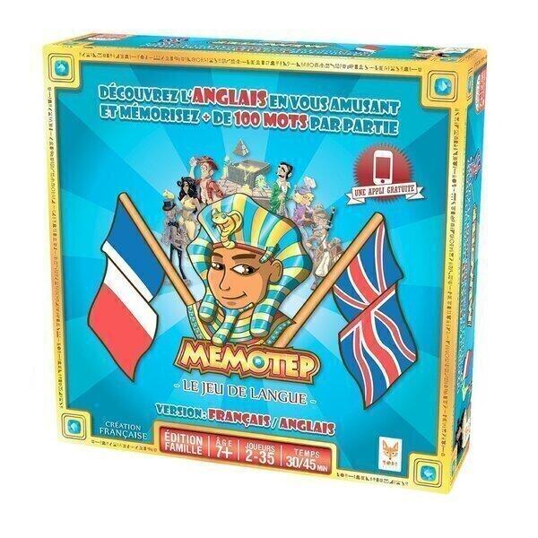 Topi Games - Memotep Anglais