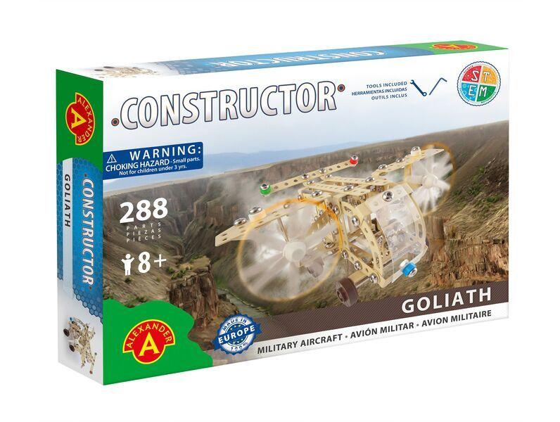 Alexander Toys - Constructor Goliath - Avion militaire
